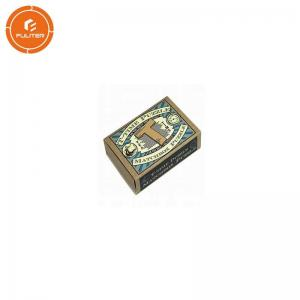 China Luxury Foil Printing Match Stick Boxes CS1 Paper Material Hot Stamping on sale