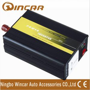 China Overload protection DC 12V Car Power Inverter with Surge power 600 W on sale