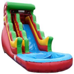 China inflatable water slide/backyard water slide on sale