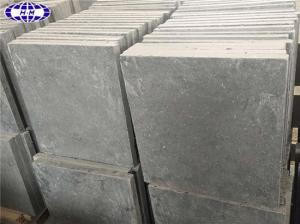 China Blue Brushed Limestone on sale