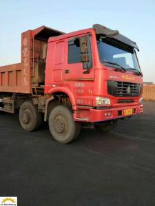China 380hp 40 Ton Dump Truck , 12 Tyre  Second Hand Mini Dump Truck ISO Approval on sale