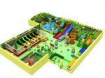 Kai Qi Kids Indoor Play Equipment Anti - Fade Security With Flexibility And Impact