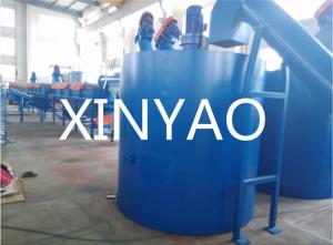 China Botella plástica del ANIMAL DOMÉSTICO que recicla la estación doble del tanque de la refrigeración por agua de la planta de la máquina on sale