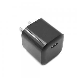 China Ultra Mini Portable PD20W Single USB-C Quick phone Wall Charger adapter on sale