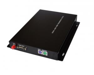 China VGA Fiber Extender with keyboard and mouse on sale