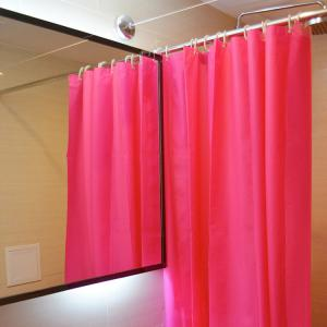 China New Fancy Color Bathroom Applications of PEVA Material Plastic Hanging Shower Curtains on sale