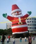 Père Noël gonflable (LWJ-01527)