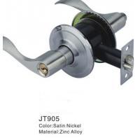 Zinc Alloy Door Lever Lock / Safety Lock For Lever Door Handles