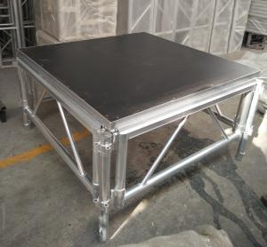 China Outdoor Wooden and Aluminum Assembling Portable Stage Platforms for Wedding , Concert on sale