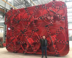 China Underground Boring Machine , Horizontal Auger Boring Machine Sewage Pipes on sale