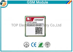 China 850MHz / 900MHz / 1800MHz / 1900MHz Siemens GSM Module SMT Type SIM800F on sale
