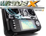 WFLY Battery Wireless Aircraft Remote Control ODM , OEM With 8 Channels