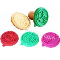 Ginger Man,Deer,Alphabet Design Food Grade Silicone Cookie Stamp Cutter As Set For Fun