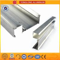 China Machinable Anodized Aluminum Profiles , Oval Aluminium Tower Scaffold on sale