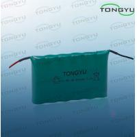 NI-MH AA 7.2V 600mAh Nimh Rechargeable Battery With Cables For Led Lighting Kits