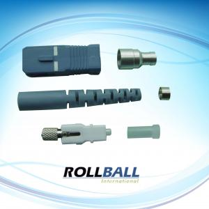 China UL-rated Plastic SC Optical Fiber Connectors Kits For Telecommunication Networks, Metro, WANs on sale