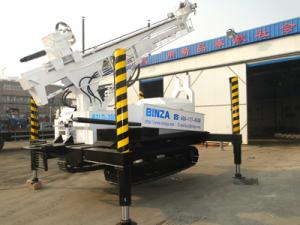 China BZLD300 Crawler rock drilling rig on sale