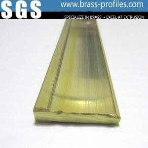 China Brass Electrical Equipment Plug Profiles Brass Electronic Components on sale