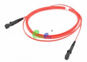 China OM2 Fiber Optic Patch Cable MTRJ Female - MTRJ Female 5M Orange Jacket Color on sale