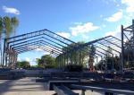 Sliding Door Prefabricated Steel Warehouse, Energy Saving Warehouse Building Kits