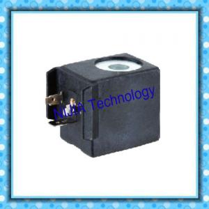 China HB700 Mini Valve Solenoid Coil , AC220V 24VDC Solenoid Coil DIN43650A on sale