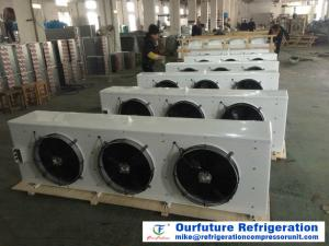 China High Efficiency Room Cooling Unit Cold Storage Copper Tube Aluminum Fin Evaporator on sale