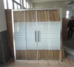 China China Sliding Shower Doors For Jordan Market Bathrooms, Jordan Construction and Buidling Projects on sale