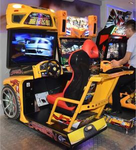 China Stunning Visual Enjoyment Racing Game Machine With Big High Definition Screen on sale