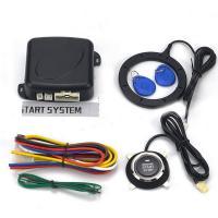 Auto Car Alarm system Smart Button Start /Off Engine RFID Lock Ignition Switch
