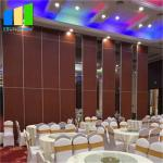 Manual Control Sliding Door Folding Partition Walls Acoustic Folding Wall Partition For Banqueting Hall