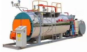 China 320HP Fire Tube 0.5-20Ton/H Natural Gas Steam Boiler on sale