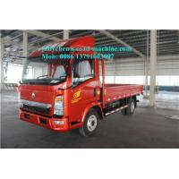 1 - 10 Ton Sinotruk Howo 4x2 Light Duty Commercial Cargo Trucks ZZ1047C2813C145
