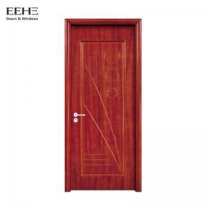 China Soundproof Wood Composite Garage Doors / Durable Wood Effect Composite Front Doors on sale