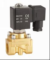 "China Mini 1/4""Water Solenoid Valve Two Way Electric Water Valve Semi Direct Acting on sale"