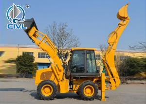 China XCMG Compact Wheel Loader 65 KW 1m3 0.3 Excavator Bucket Small Backhoe Loader WZ30-25 on sale