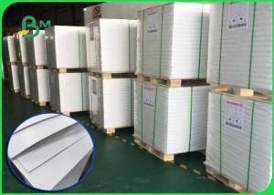 China White Plain C2S Art Board Paper 200gsm Glossy Coated Offset Printing Paper Roll on sale