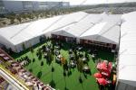 Huge Outdoor Event Tents with Decoration and AC System For Outdoor Exhibition / Conference / Party / Trade Show