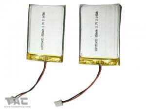 China GSP053450 3.7V 850mAh Batteries Polymer Lithium Ion Batteries for GPS Tracker on sale