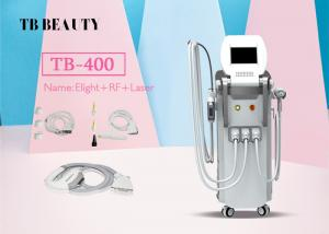Quality Elight IPL RF  Nd Yag Laser Treatment Equipment For Tattoo Hair Wrinkle Removal for sale