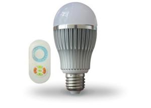 China E27 Energy Efficient LED Light Bulbs / Dimmable Led Lamps with Wifi Controller on sale