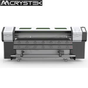 China CrysTek CT-R180 roll and flatbed UV printer with Epson dx5 head for glass wood mental printing on sale