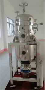 China 0.1-0.4 Filtros verticales de la hoja de la presión del Mpa para el aceite de palma, aceite de haba crudo de soja on sale