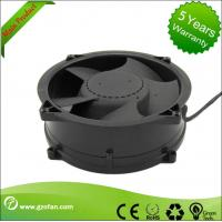 China Brushless 48V DC Axial Fan / Bathroom DC Exhaust Fan High Efficiency on sale