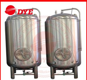 China 1000L Stainless Steel Storage Water Tank , Steam Jacketed Tank Round Legs on sale