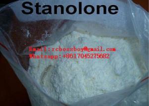 China Raw Steroid Powders Stanozolol Powder  Winstrol Anabolic Steroids CAS 10418 03 8 on sale