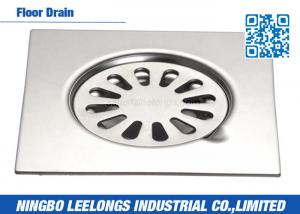 China Stainless Steel Floor Drains Bathroom Sanitary Ware 5inch on sale