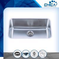 Customized Single Bowl Undermount stainless steel kitchen Sink with satin finish