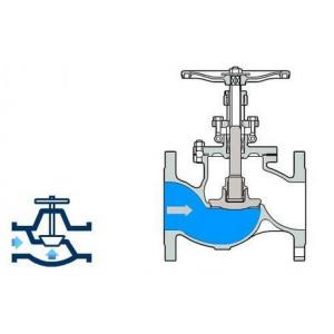 China Weld Type High Pressure Ball Valves , Stainless Steel Globe Valve Class 3000 on sale
