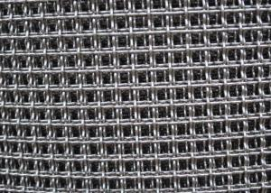 China 1mm 1.2mm 304 Stainless Steel Crimped Wire Mesh For Baking Tray on sale