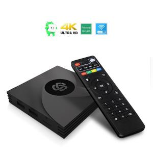 China HLQ Quad Core 2GB 16GB KD Player Fully Loaded Android 7.1 4K IPTV Set Top Box on sale